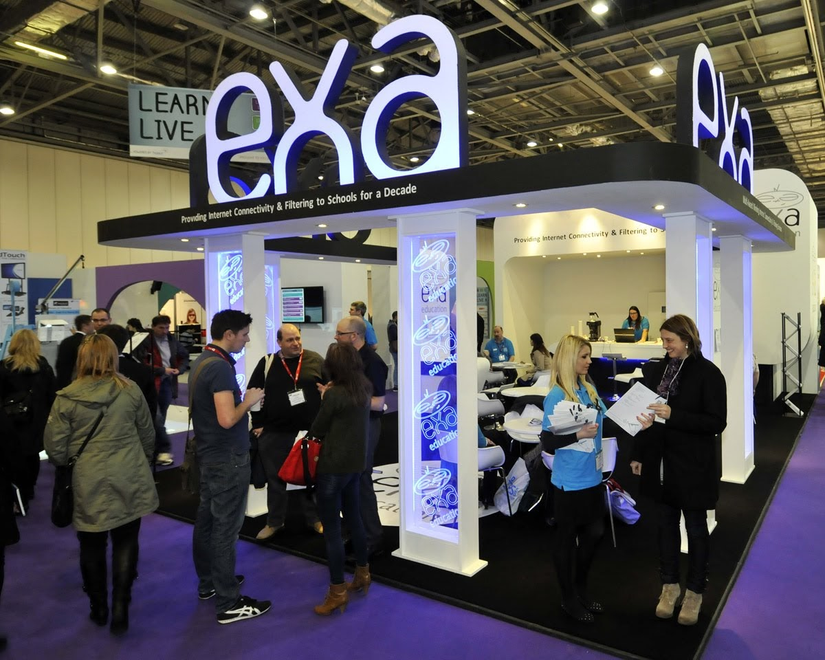 EXA Exhibition Stand by Oaks Exhibitions
