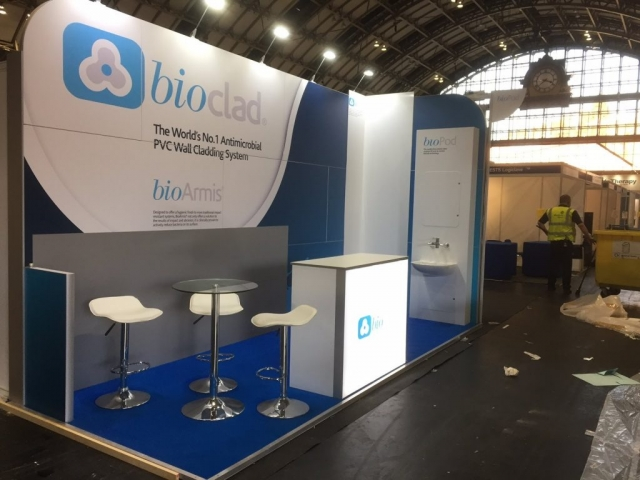 Bioclad Exhibition Stand by Oaks Exhibitions
