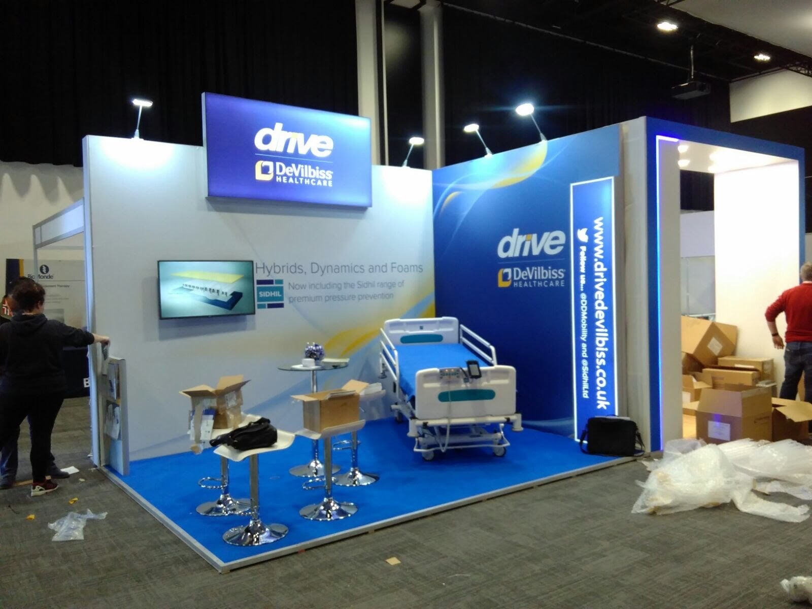 Drive Modular Exhibition Stand by Oaks Exhibitions