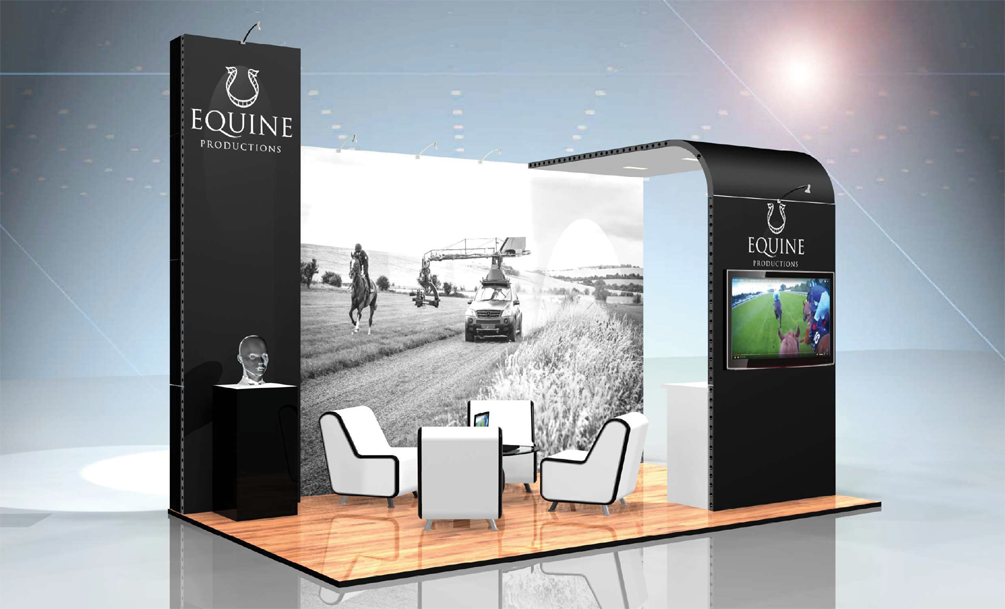 Equine Modular Exhibition Stand by Oaks Exhibitions