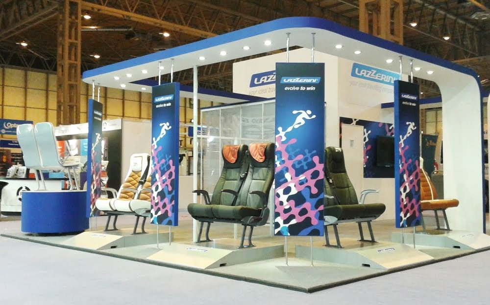 Eurobus Exhibition Stand by Oaks Exhibitions