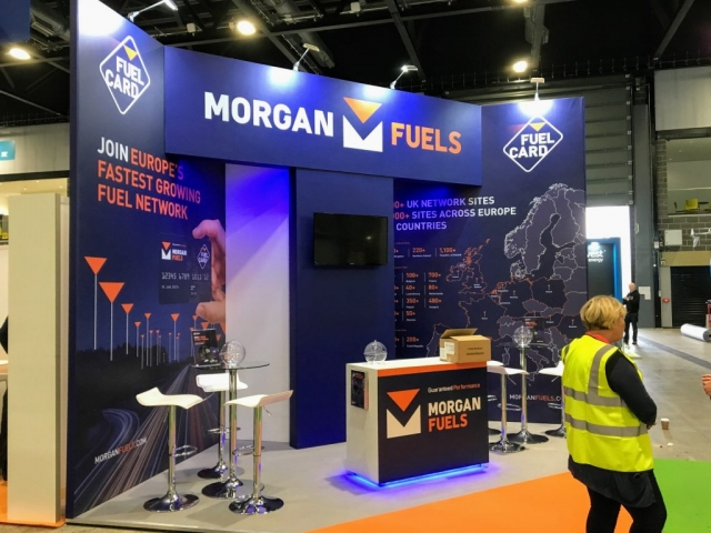 Morgan Fuels Exhibition Stand by Oaks Exhibitions