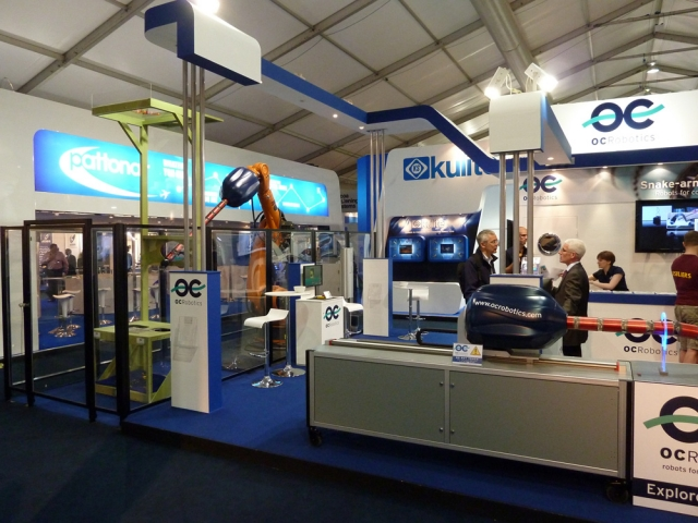 OC Robotics Exhibition Stand by Oaks Exhibitions