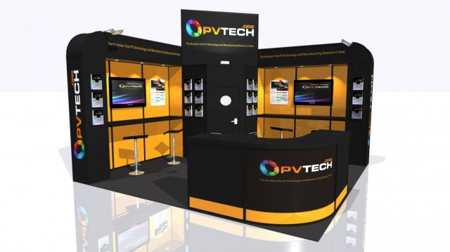 PV Tech Modular Exhibition Stand by Oaks Exhibitions