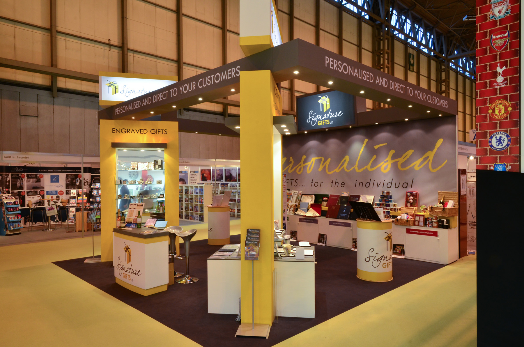 Signature PG Exhibition Stand by Oaks Exhibitions