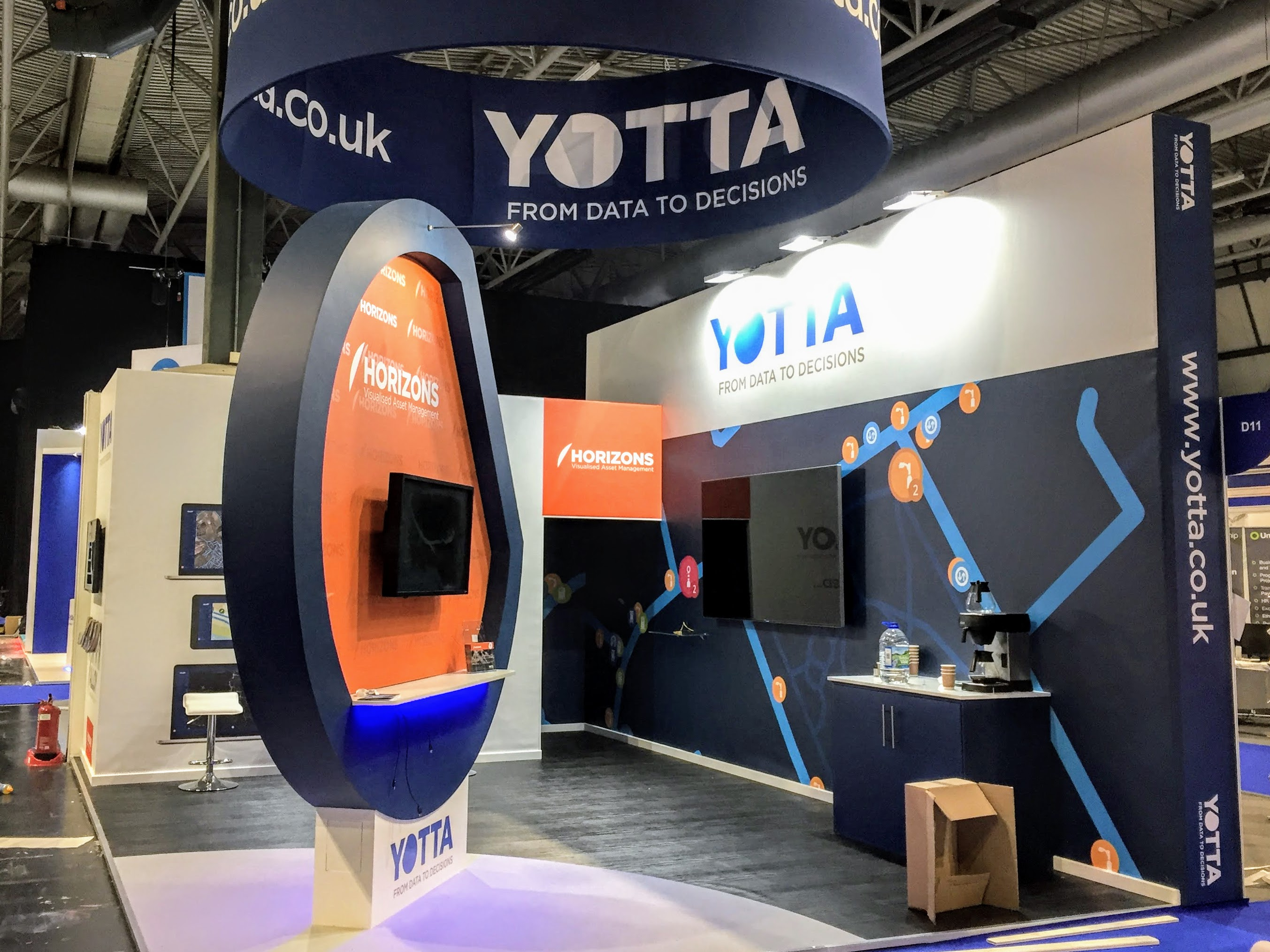 Yotta Exhibition Stand by Oaks Exhibitions