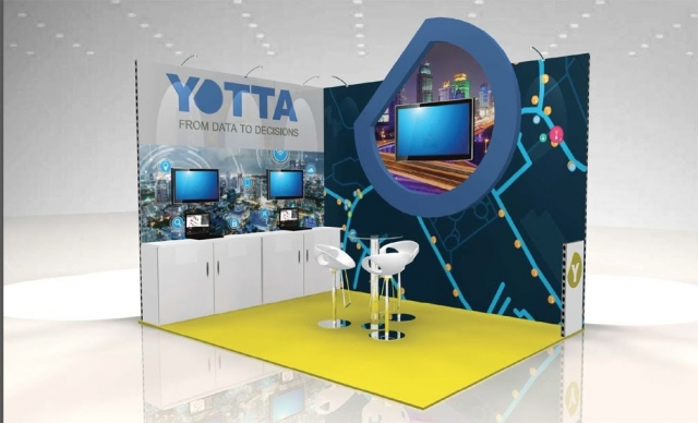 Yotta Modular Exhibition Stand by Oaks Exhibitions