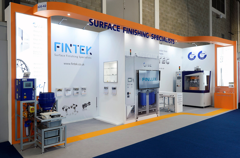 Fintek Exhibition Stand by Oaks Exhibitions